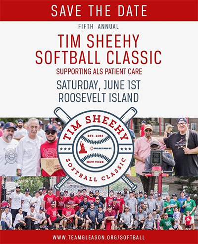 Tim Sheehy Softball Classic @ Roosevelt Island