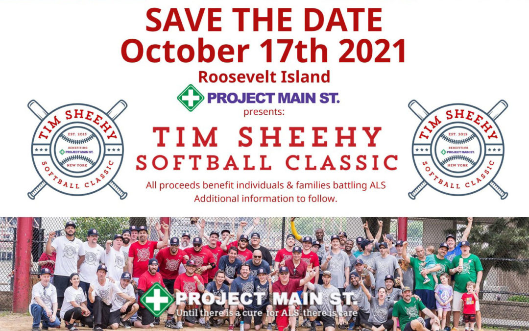 Save the Date! 10/17/21 – Tim Sheehy Softball Classic And Reception